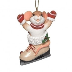 Ice Skate Ornament - $17.00