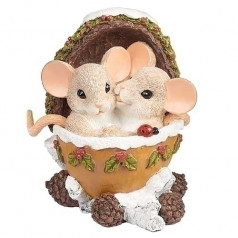 Mice in Train Caboose - $26.00