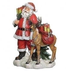 Santa with Reindeer - $79.99