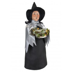 Witch with Silver Cape - $76.00