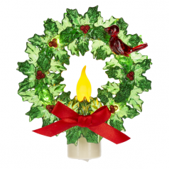 166187 Wreath Night Light - $26.99