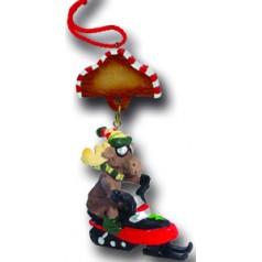 Snowmobile Moose - $10.99