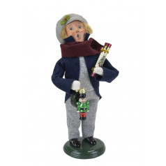 Boy with Glass Ornament - $76.00