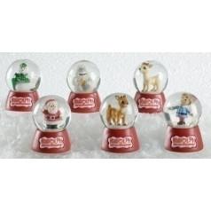 Rudolph Snowglobes, 6 asst. - $8.99 each