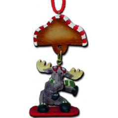 Snowboard Moose - $10.99
