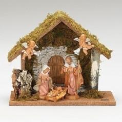 6 Piece Wedding Nativity $140.00