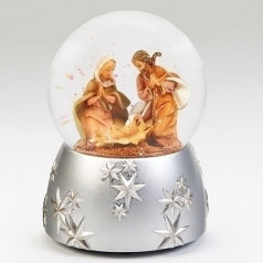 Holy Family with Silver Base - $49.99