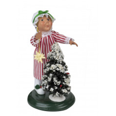 Toddler with Tree - $32.00