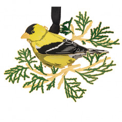 Solid Brass Goldfinch - $19.99