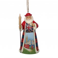 British Santa Ornament - $24.99