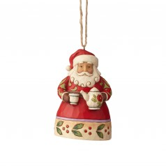 Tea Time Santa Ornament - $24.99
