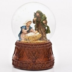 Holy Family Carved Base - $54.99