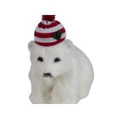 Polar Bear with Hat - $26.00