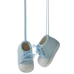 Baby Boy Booties - $13.99