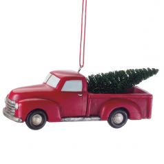 Red Pick Up Truck - $9.99