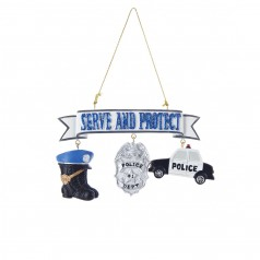 Police Dangle - $9.99