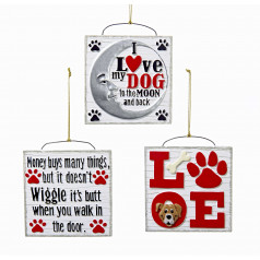 A1699 Love Dog - $9.99 each