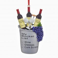 "C6560 Resin Wine ""My Bucket List"" - $9.99"