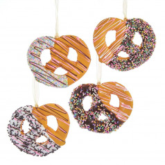 Pretzel w/Drizzle & Sprinkles - $6.99 each