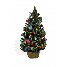 Lighted Decorated Tree - $50.00