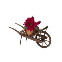 Poinsettia Wagon - $26.00