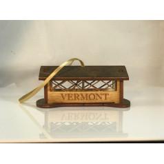 Wooden Covered Bridge - $13.99