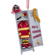 Firefighter Locker - $7.99