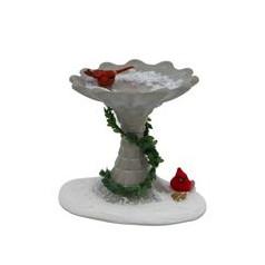 Cardinal Birdbath - $42.00
