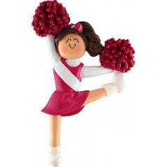 Red Brunette Cheerleader - $10.99
