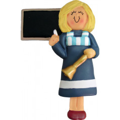 Blonde Blue Female Teacher - $11.99