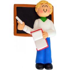Blonde Male Teacher - $11.99