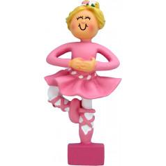 Blonde Female Ballerina - $10.99
