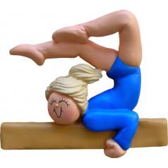 Blonde Female Gymnast - $10.99