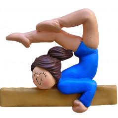 Brunette Female Gymnast - $10.99