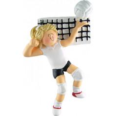 Blonde Female Volleyball - $10.99