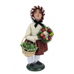 Girl with Evergreens - $76.00