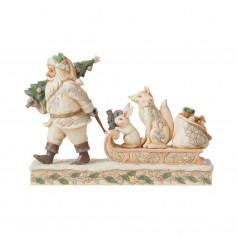 Woodland Santa with Animals - $