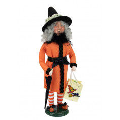 Witch with Umbrella - $76.00